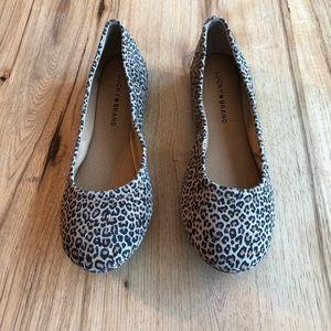 Lucky Brand Emmie Leopard ballet flats . 8.5